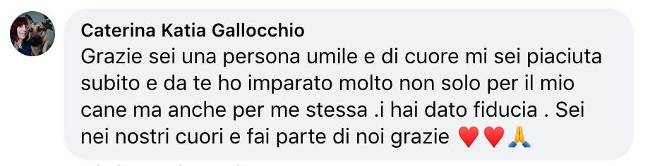 testimonianza Daniela Pitardi